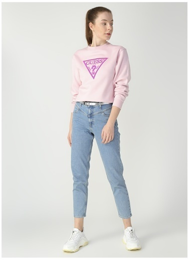 Guess Sweatshirt Pembe